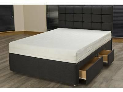 platform bed base with drawers no bed frame or box spring needed