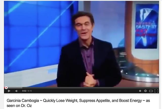 Dr oz show and garcinia cambogia Diet plans