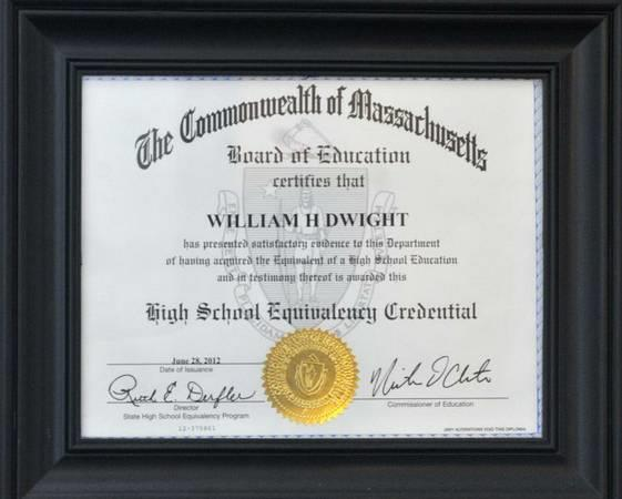 cornerstone christian correspondence school High School Equivalency Diploma Guaranteed